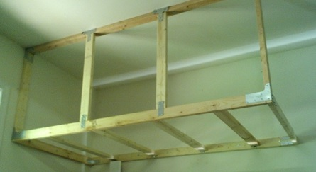 storage in the garage i used this article on diy garage storage as a ...